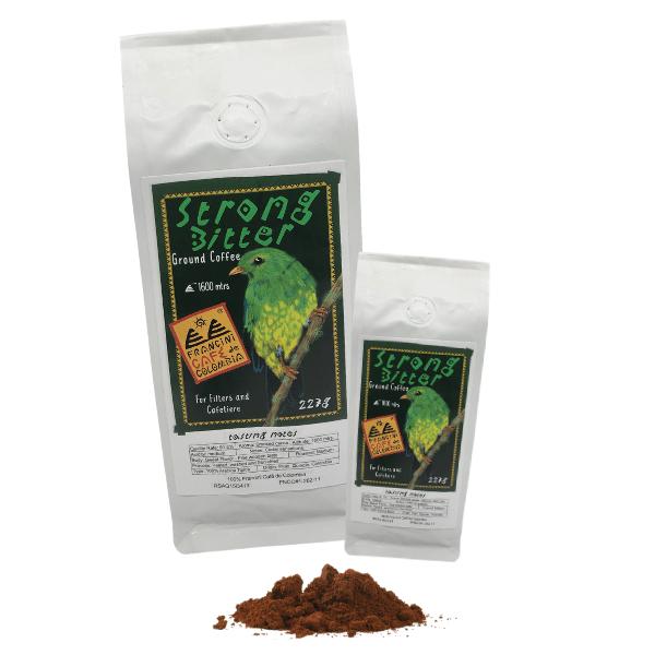 Filter coffee strong bitter