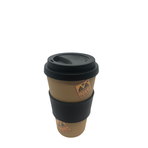 Reusable cup for coffee