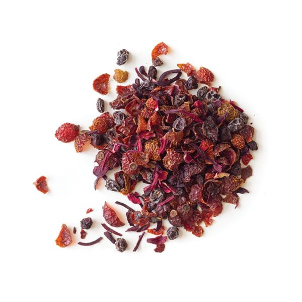 Loose leaf mixed berries tea